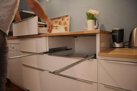 Favorit Ikea Küche Schublade ausbauen - eine Anleitung JT16