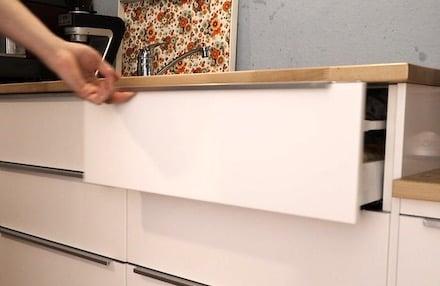 Hervorragend Ikea Küche Schublade ausbauen - eine Anleitung NY39
